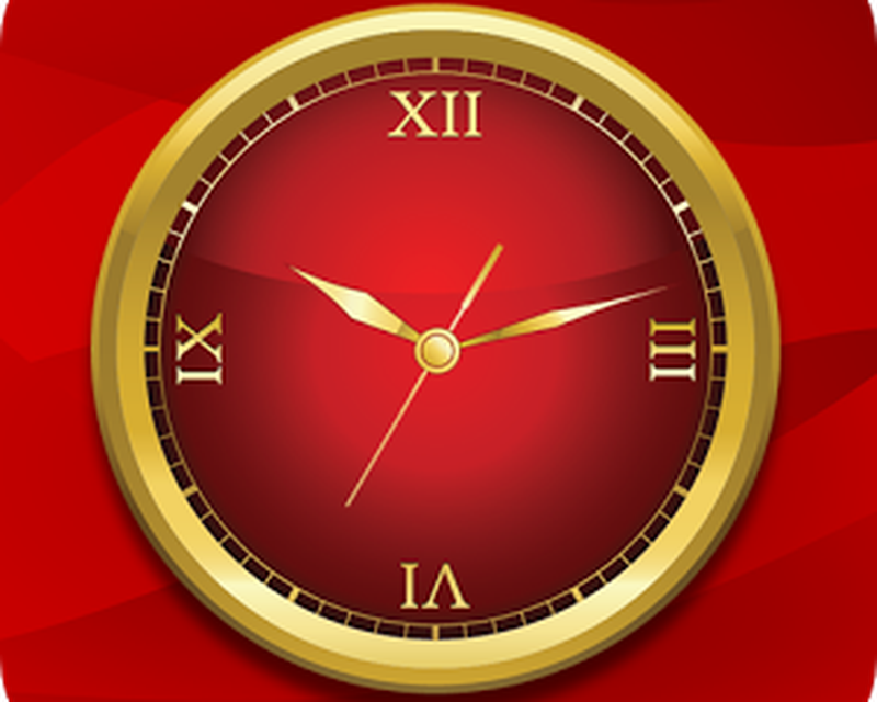 Gold Clock Live Wallpaper Android Ibox App Studio
