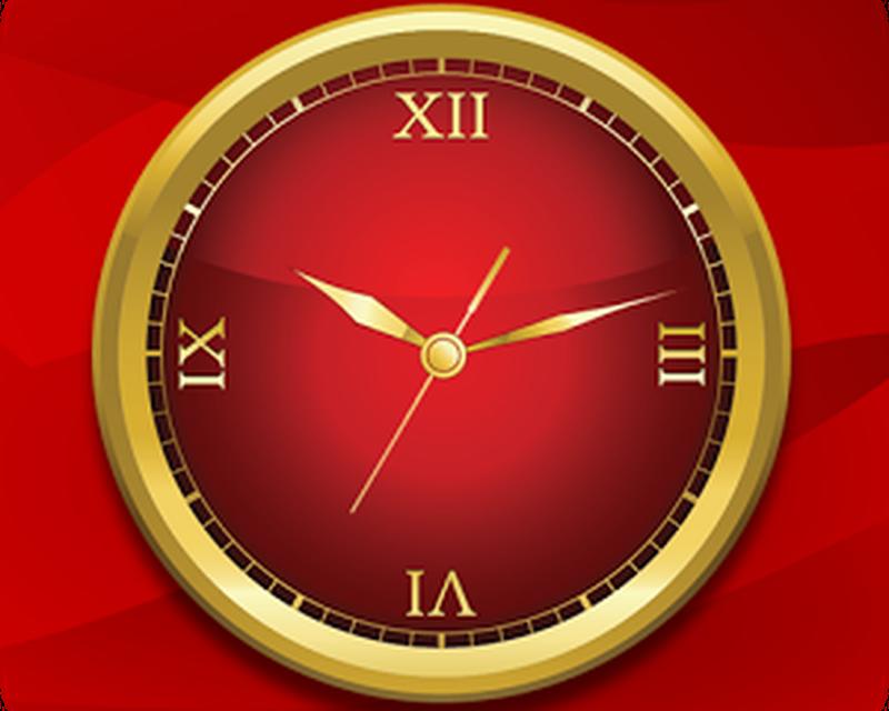 Gold Clock Live Wallpaper Android Ibox App Studio