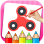 Fidget Spinner Coloring Book & Drawing Game 3.0.2