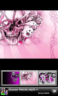 Free girly skull wallpaper best hd wallpaper free download girly skull wallpaper source download girly skull wallpapers 2 0 free apk android voltagebd Choice Image