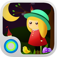 Bubbly Forest Hola Theme apk icon