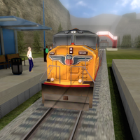 Train Driver - Simulator