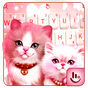 Lovely Cute Pink Kitty Cat Keyboard Theme 6.9.14.2018