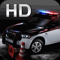 Icône de parking de la police 3D HD