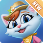 Kitty City: Help Cute Cats Build & Harvest Crops 16.000