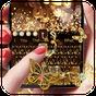 Gold Glitter Butterfly Keyboard 10001004