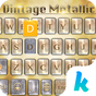 Vintage Metal Keyboard Theme