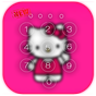 Kawaii Kitty Lock Screen theme  APK
