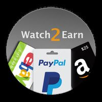 Watch2Earn - Free Paypal Cash & Gift Cards apk icon