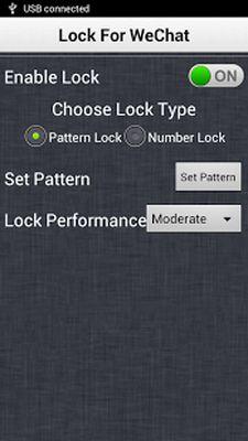 Lock for WeChat screenshot apk 1