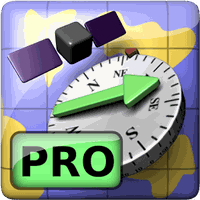 Icono de AR GPS Compass Map 3D Pro
