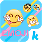 Funny Emoji for Kika Keyboard 10.0