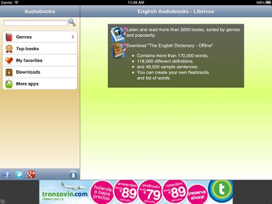 English Audio Books - Librivox 8 02 Android - Tải