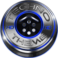 Smart Launcher Theme Techno 3D icon