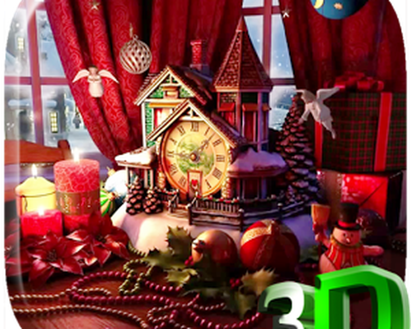 Sfondi Natalizi In 3d.Natale 3d Sfondi Animati 1 0 Download Gratis Android