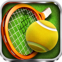 Fiske Tenisi - Tennis 3D Simgesi