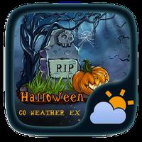 Halloween Weather Widget Theme Simgesi