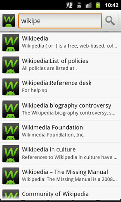 Download GWiki - Wikipedia for Android 0 3 3 free APK Android