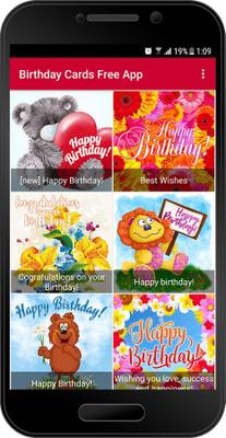 Birthday Cards Free App Image
