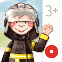 Tiny Firefighters Seek & Find Simgesi
