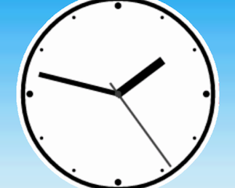 Simple Analog Clock [Widget] Android - Free Download
