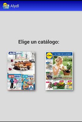 Alydl: Aldi, Lidl and Dia España screenshot apk 0