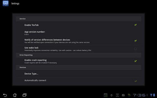 TexTab Lite screenshot apk 4