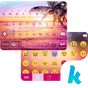 Sunset Beach Kika Keyboard 25.0