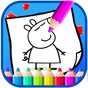 Art peppa Coloring Page Pig Cartoon 1.0.0.0 APK