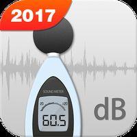 Ícone do detector de decibéis e ruído