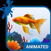 Icône de Clavier Animé Aquarium