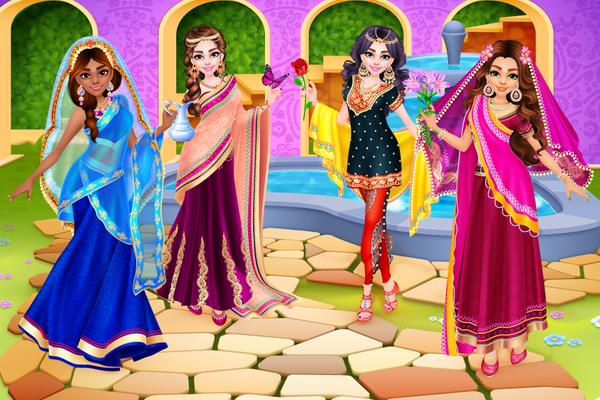 Juego De Vestir Princesa India 10 Android Descargar Gratis