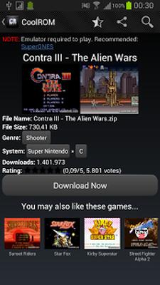 Baixar CoolROM (Play Retro Games) 1 4 APK Android grátis