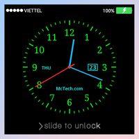 Ikona apk Blokada ekranu zegar na żywo