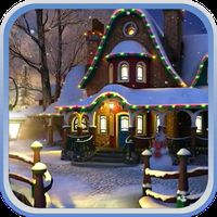 Ícone do apk Magical Christmas 3D Wallpaper