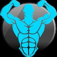 Icône de Gym Fitness & Workout: entraîneur personnel