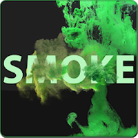 Ikon Smoke Effect Name Art