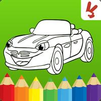 Boyama Kitabı çocuk Arabalar 1016 Android Apk Dosyalarını