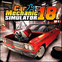 Icono de Car Mechanic Simulator 18