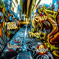 Fashion Graffiti Street Art icon