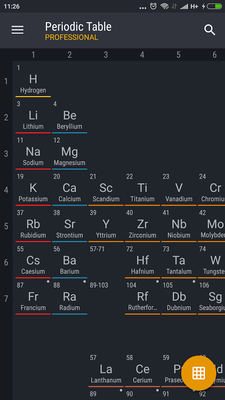 Periodic table 2017 pro android free download periodic table 2017 periodic table 2017 pro image urtaz Choice Image