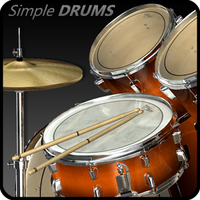 Simple Drums - Rock Simgesi