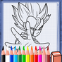 Coloring Super Saiyan DBS Games 1.0