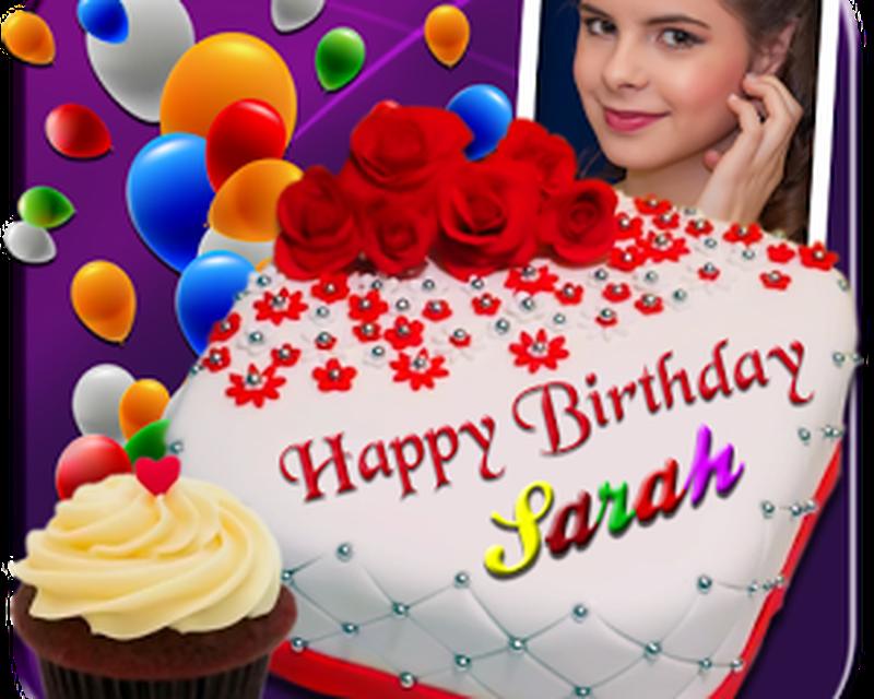 Fabulous Photo On Birthday Cake Fur Android Download Personalised Birthday Cards Xaembasilily Jamesorg