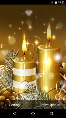 Sfondi Natalizi Free.Natale Sfondi Animati 3 8 Download Gratis Android