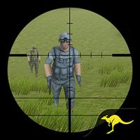 dağ Sniper çekim 3D Simgesi