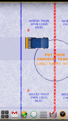 Hockey Ice Rink Live Wallpaper Image 1