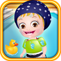 Baby Hazel Swimming Time 12