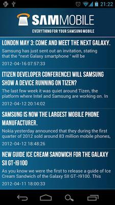 Baixar SamMobile Free 4 1 4 APK Android grátis