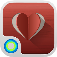 Simple and Red Hola Theme apk icon